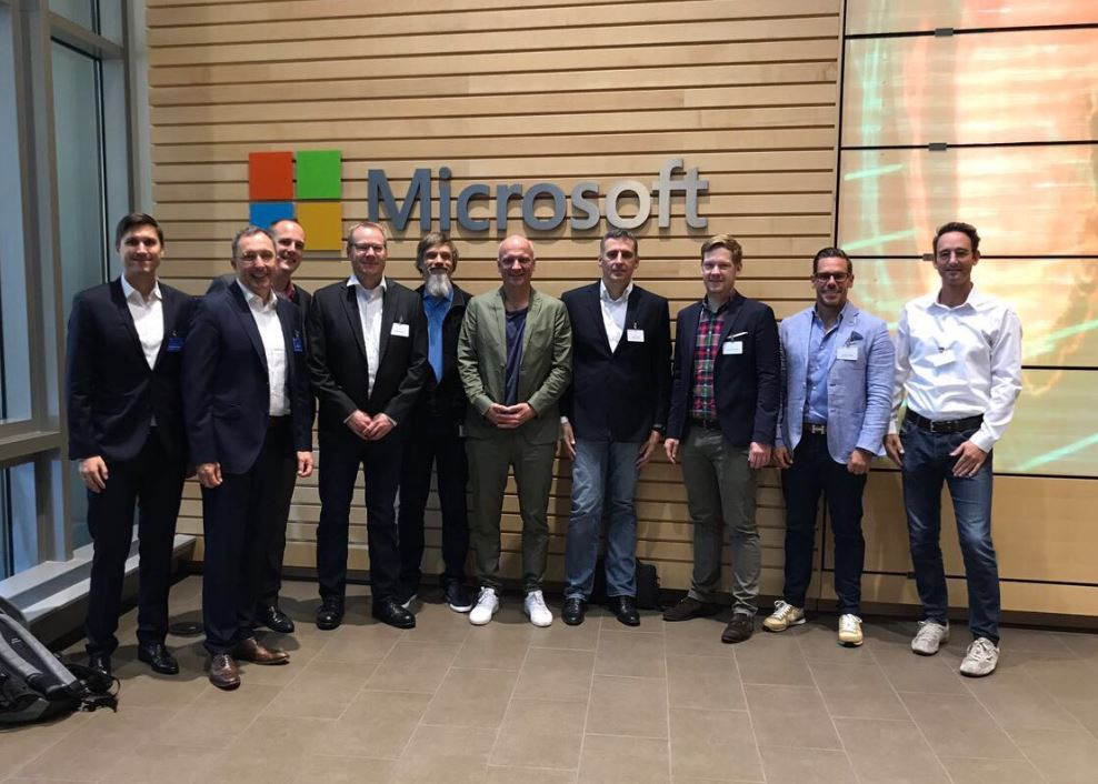 Eucon@Microsoft Headquarter: gemeinsam digitalen Transformation realisieren